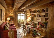 soggiorno in casa di montagna