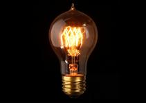 lampadina stile Edison