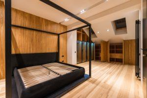 camera da letto con mansarda